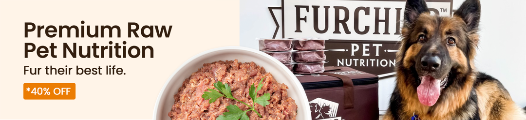 Premium Raw Pet Nutrition Fur their best life 40% Off