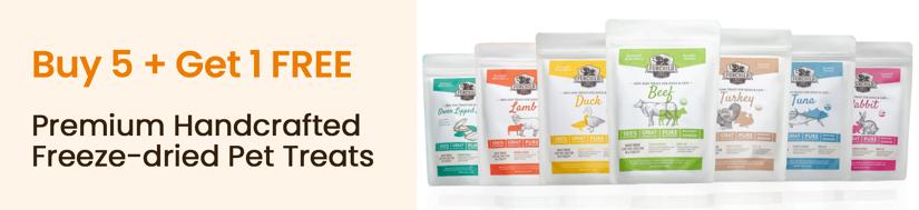 Premium Raw Pet Nutrition Buy + 5 Get 1 Free