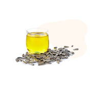 Organic Sunflower Seed Oil is rich in omega-6, an essential fatty acid that must be consumed through food and helps stimulate skin and hair growth and promote a healthy immune system.