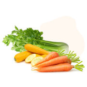 100% organic vegetables and fruits contains more protective antioxidants and are grown in natural fertilizers.