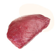 Our free-range ostrich from South Africa is the most sustainable red meat. Extremely high in protein, low in fat, calories, and cholesterol but high in iron, and easy to digest.