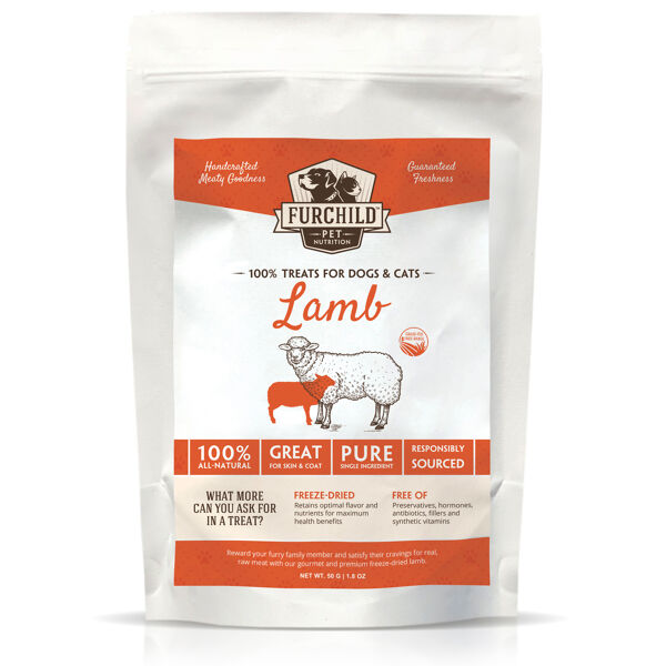 Premium Freeze-dried Grass-fed Lamb Treats