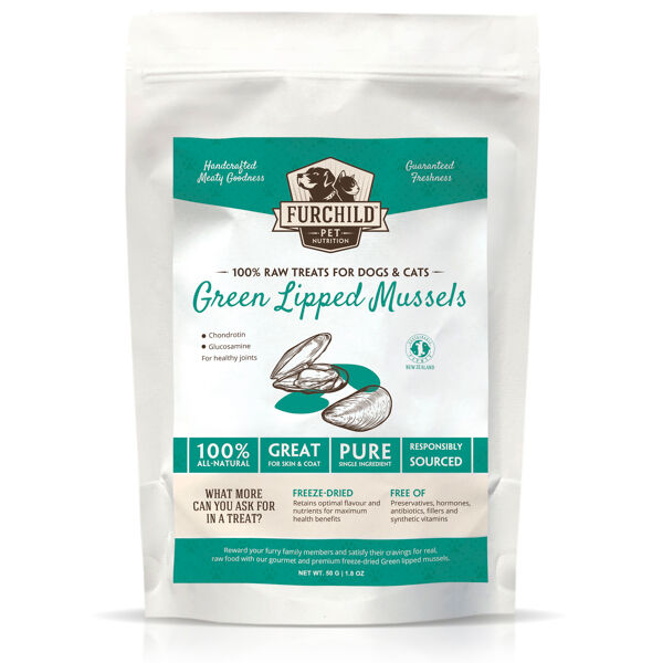 Premium Freeze-dried Green Lipped Mussel Treats