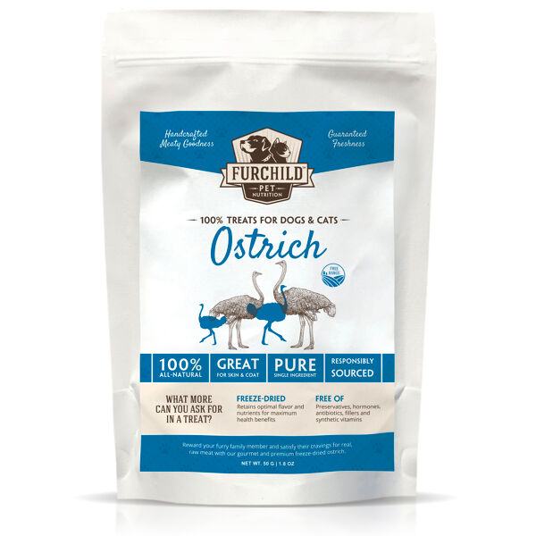 Premium Freeze-dried Free-range Ostrich Treats