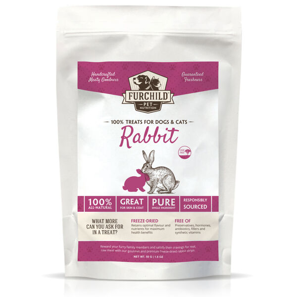 Premium Freeze-dried Cage-free Rabbit Treats