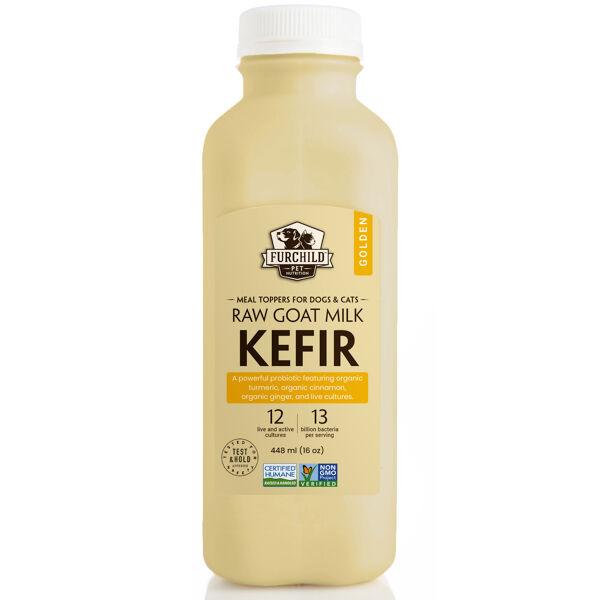 Golden Raw Goat Milk Kefir
