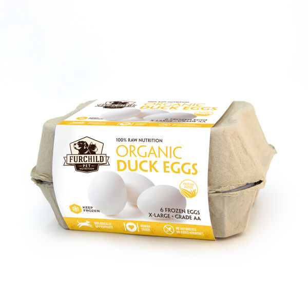 Organic Raw Duck Eggs