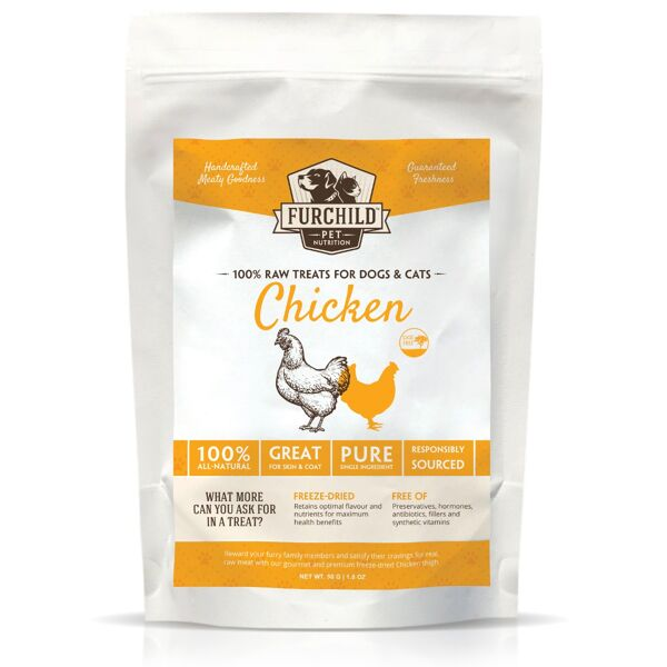 Premium Freeze-dried Free-range Chicken Thigh Treats